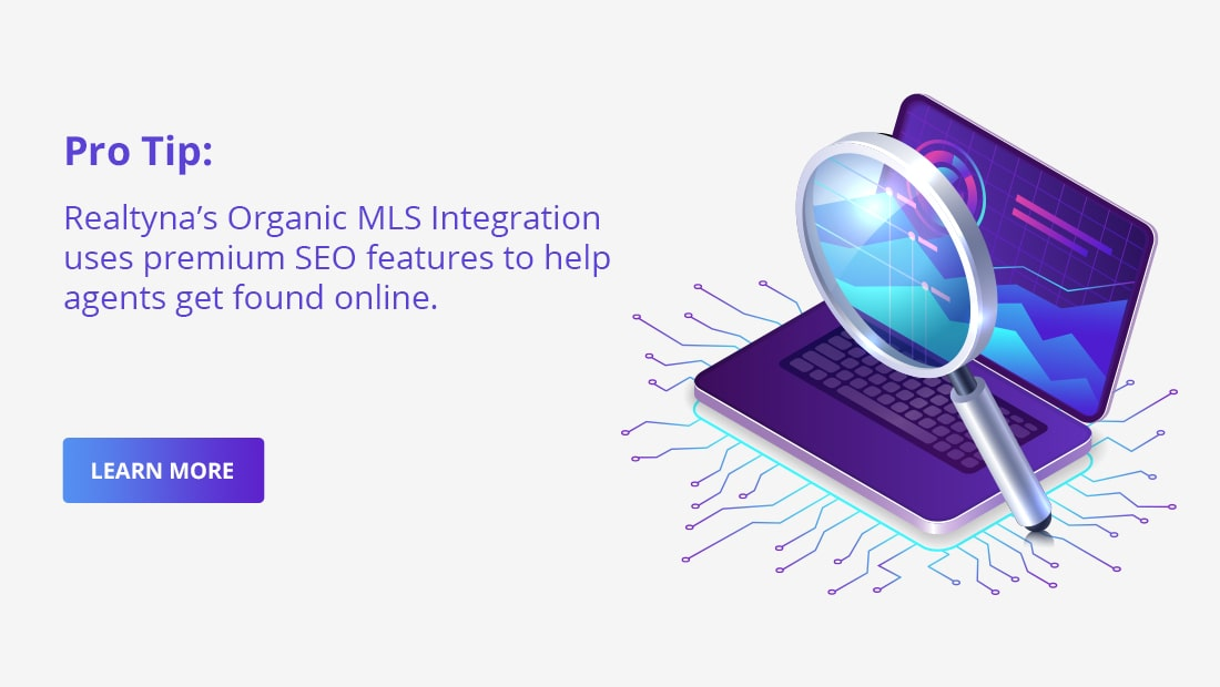 Realtyna's Organic MLS Integration