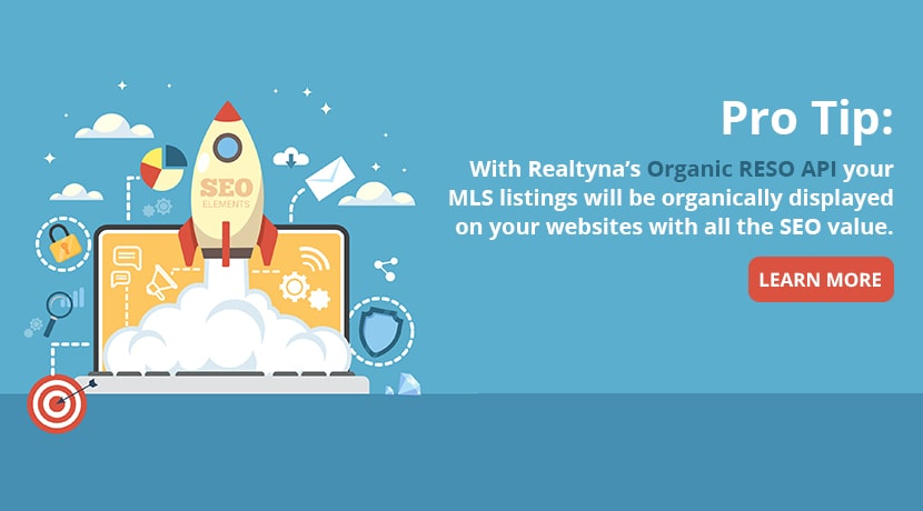 Realtyna's Organic RESO APU