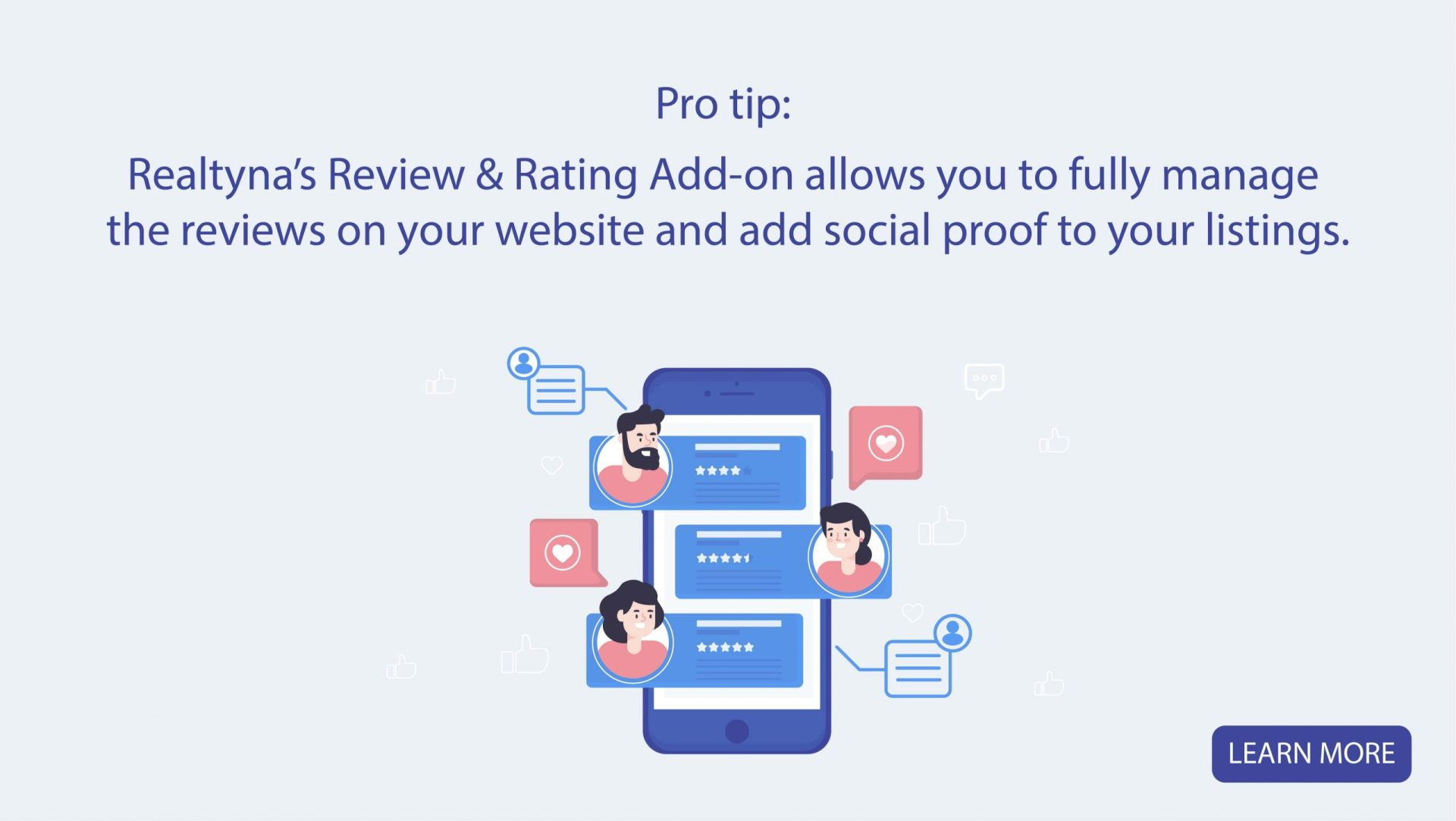 Realtyna's Review and Rating Add-on