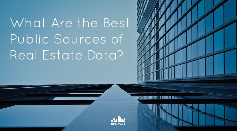 What Are the Best Public Sources of Real Estate Data?