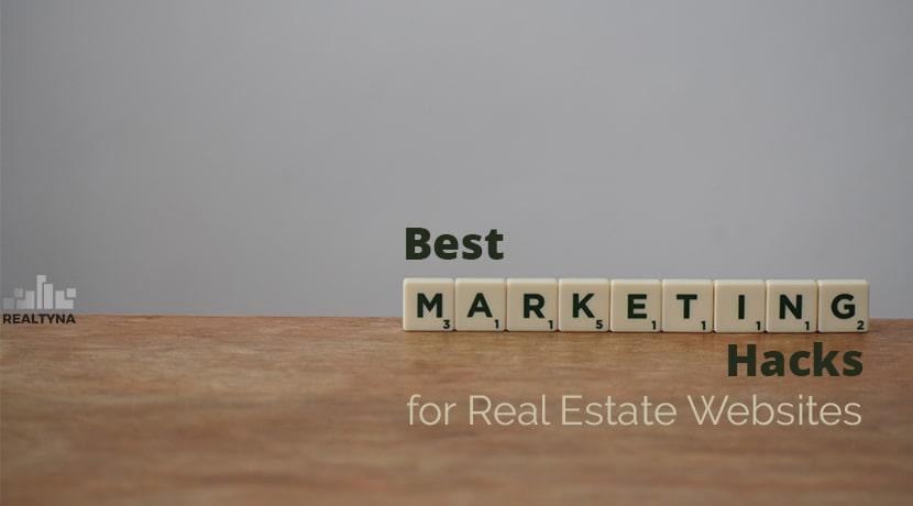 marketing hacks for real estate