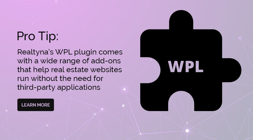 Realtyna's WPL plugin