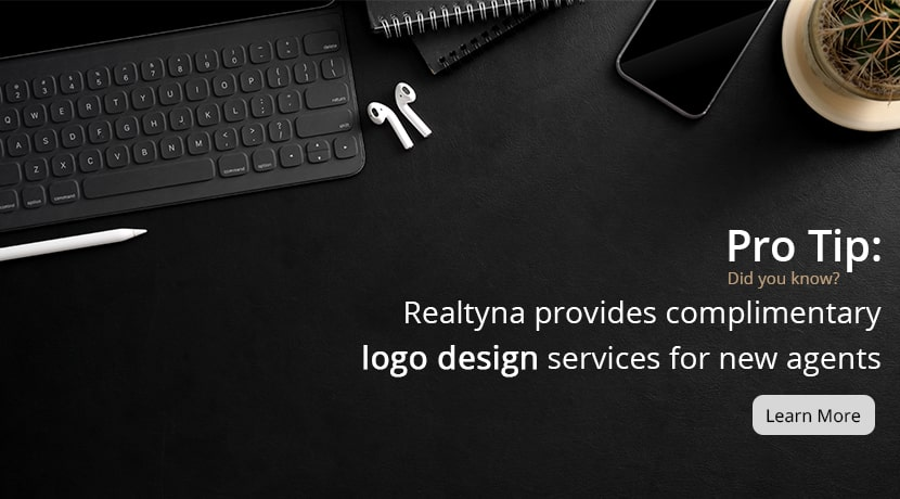 Realtyna's complimentary logo