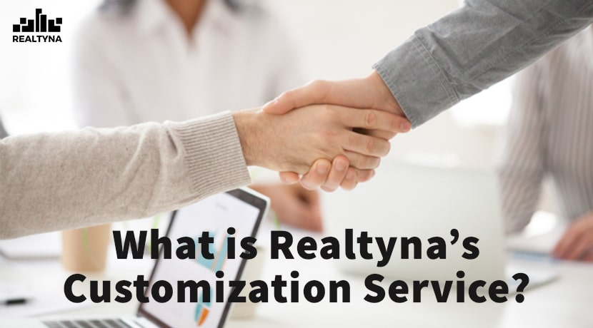 Realtyna's customization service