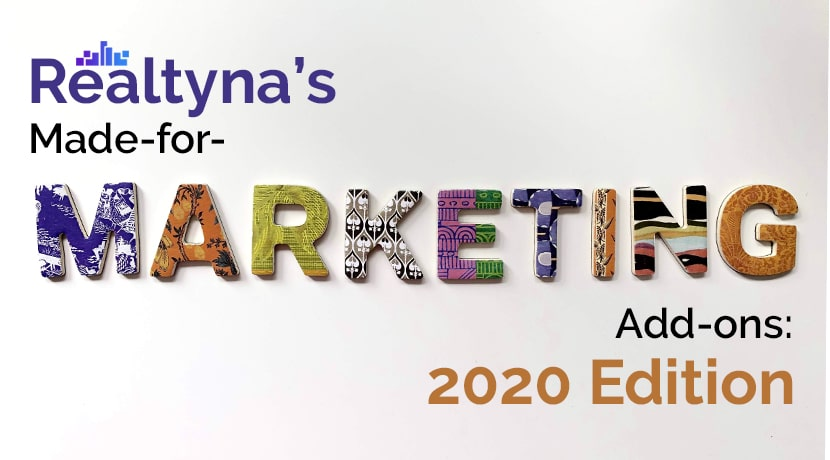 Realtyna's Made-for-Marketing Add-ons: 2020 Edition