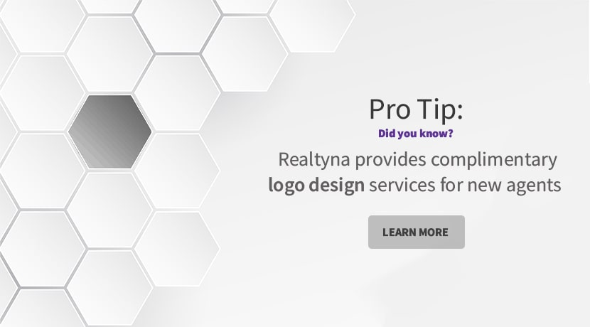 Realtyna's complimentary logo design