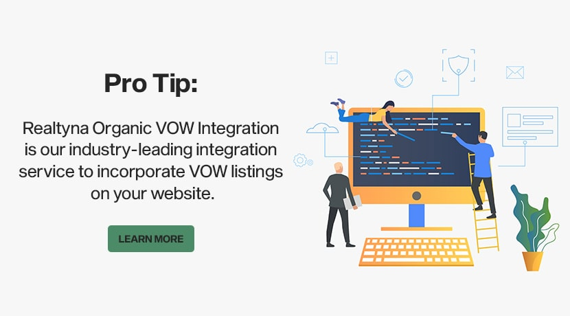 Realtyna's Organic WOW Integration