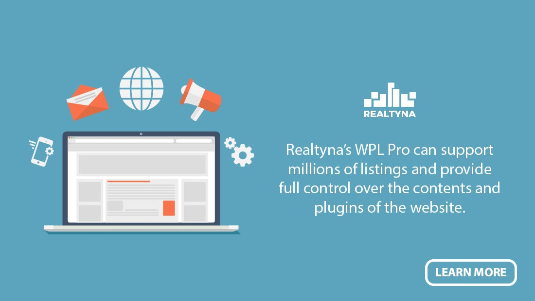 Realtyna's WPL Pro