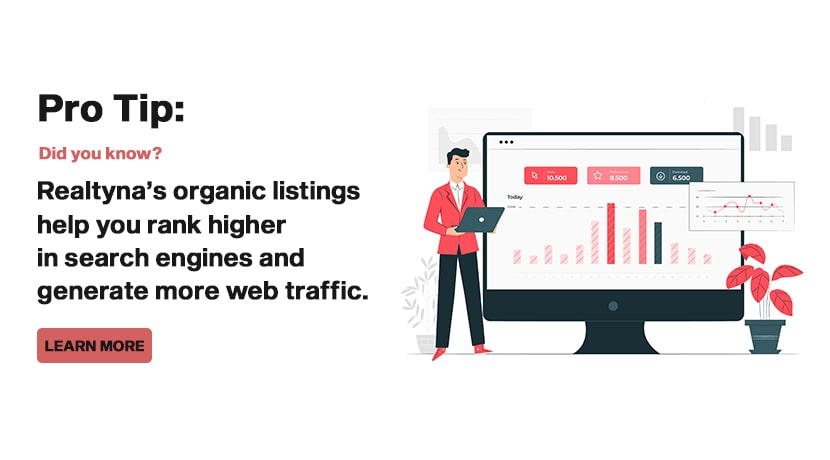 Realtyna's Organic Listings