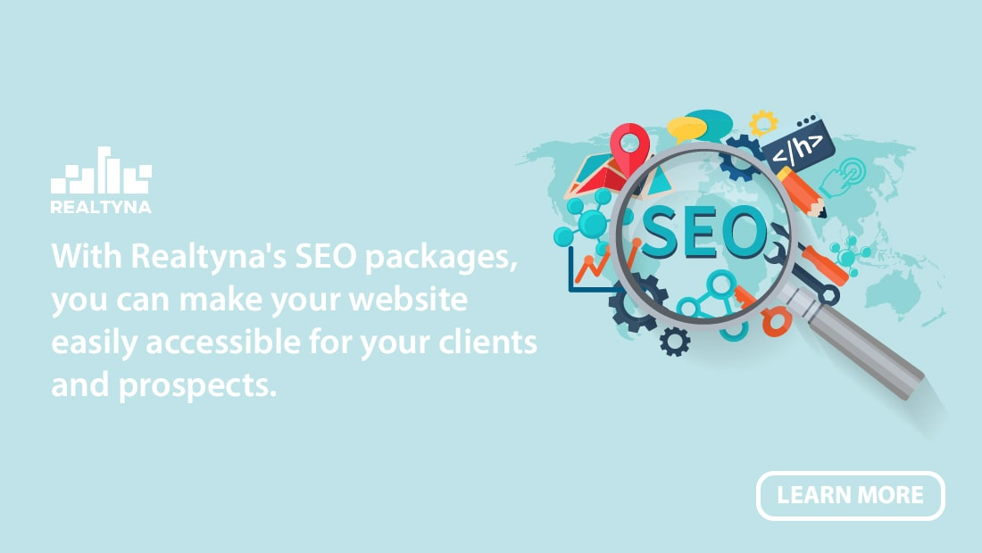Realtyna's SEO packages