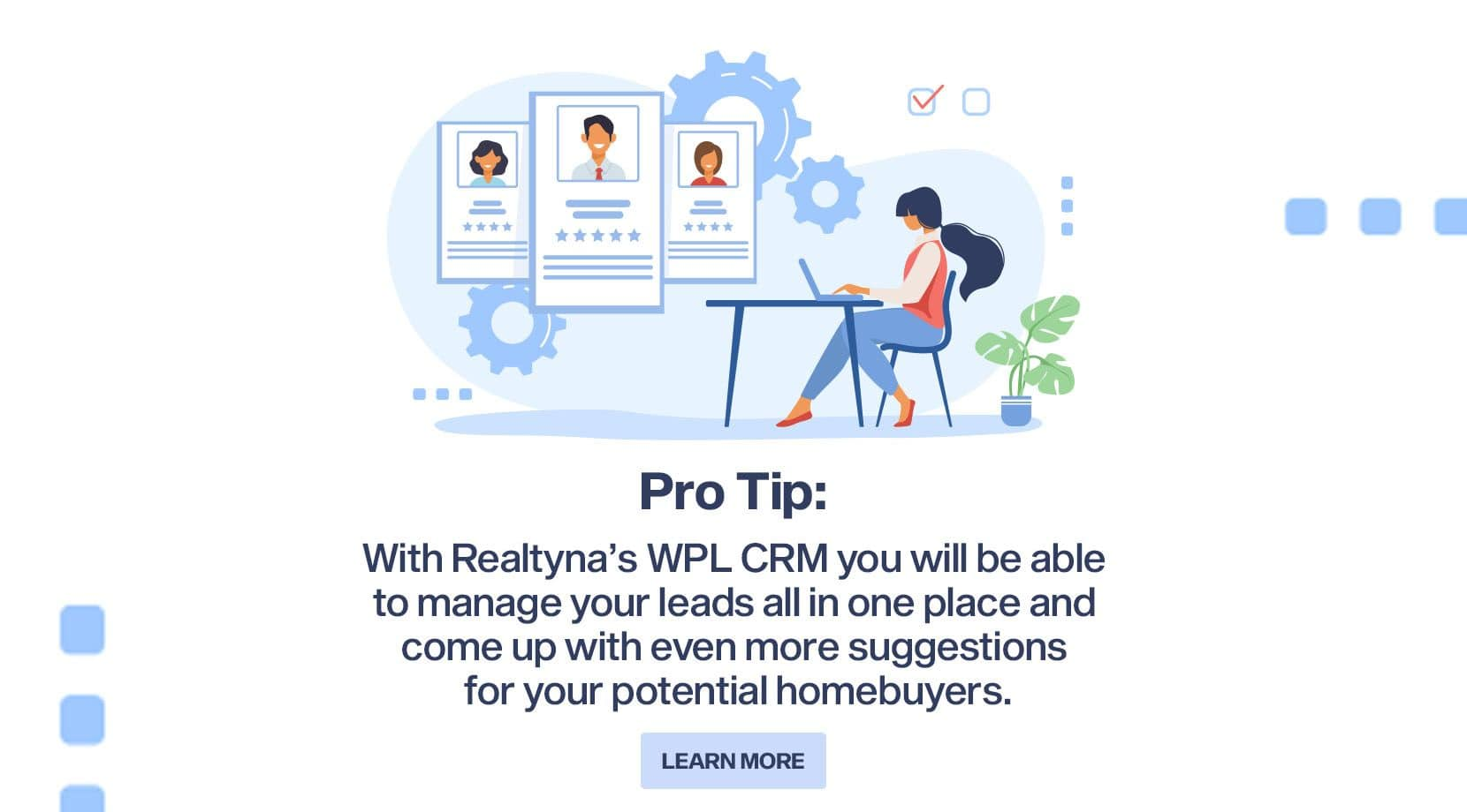 Realtyna's WPL CRM