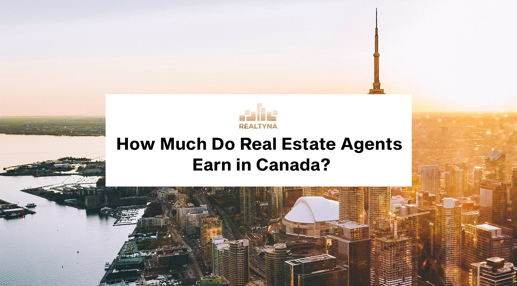real estate agent salary in Canada