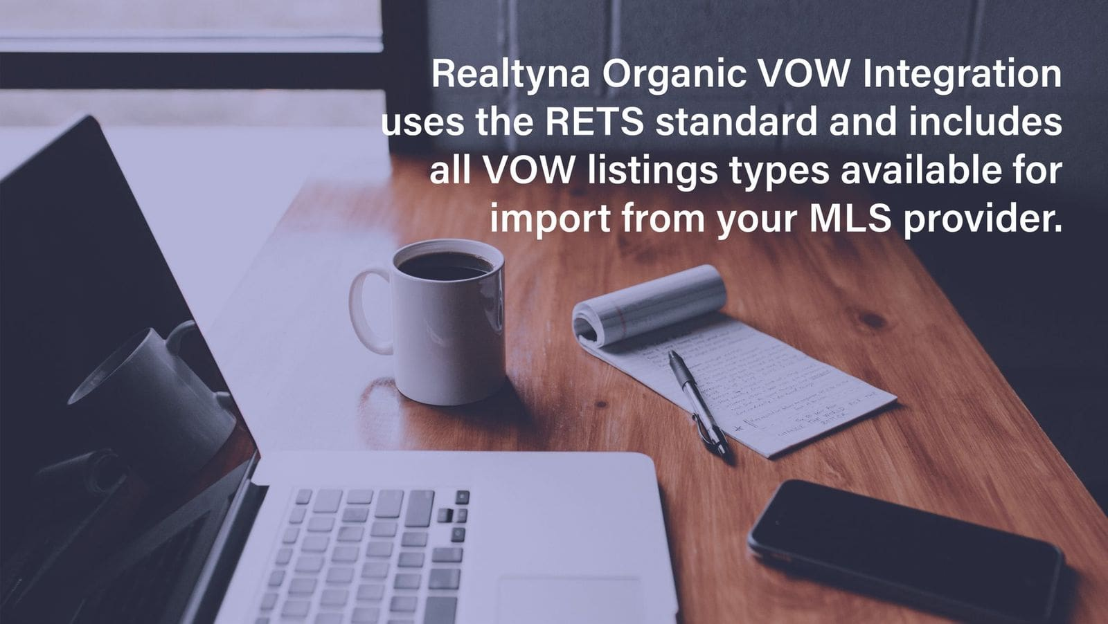 Realtyna's Organic Vow Integration