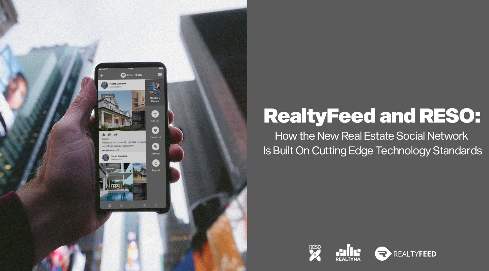 RealtyFeed and RESO: How the New Real Estate Social Network Is Built On Cutting Edge Technology Standards