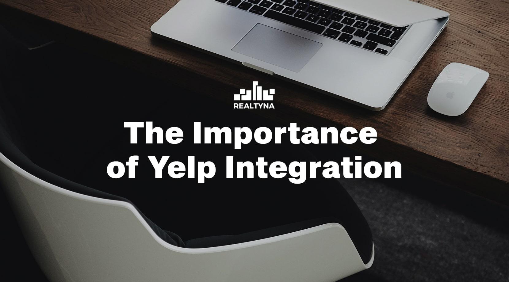 Yelp Integration on real estate website