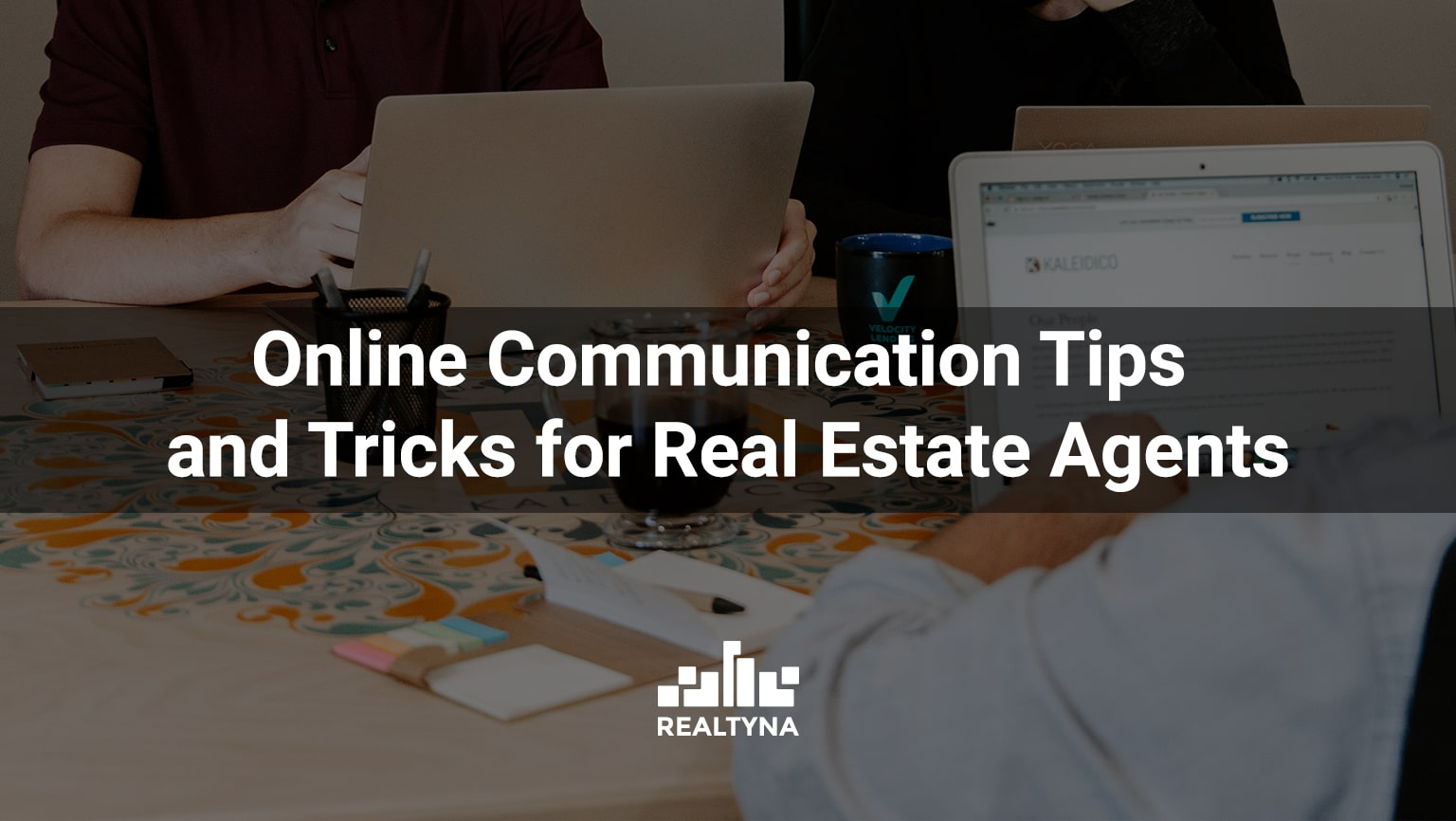 online communication for real estate agents