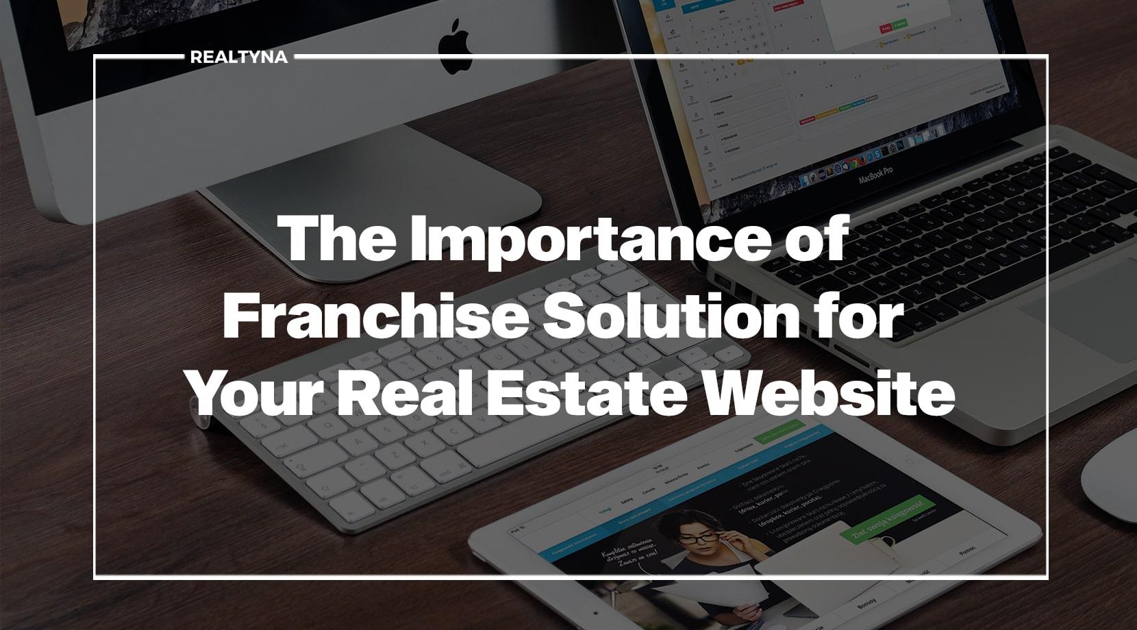 franchise for real estate website