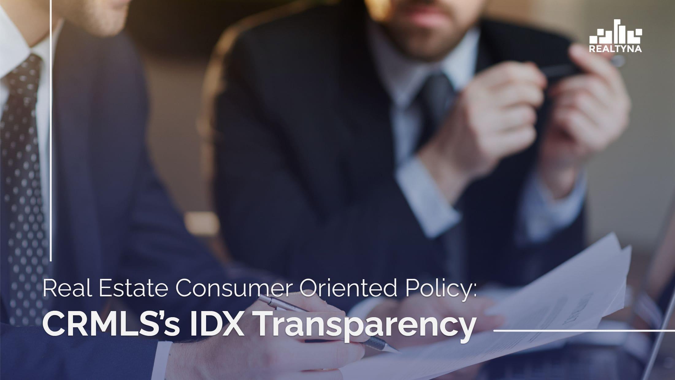IDX Transparency